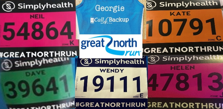 Six Great North Runners