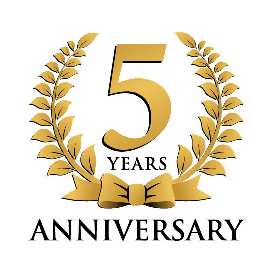 Our Fifth Anniversary