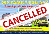 Cancelling Our 999 Family Fun Day
